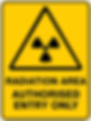 Radiation Area Authorised Entry Only