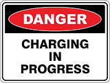 Danger Charging in Progress