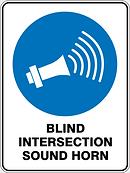 Blind Intersectio Sound Horn