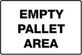 Empty Pallet Area