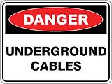 Danger Underground Cables