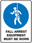 Fall Arrest Equipment Must Be Worn