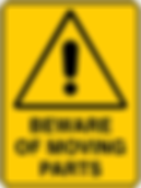Beware of Moving Parts