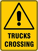 Trucks Crossing