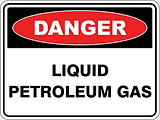 Danger Liquid Petroleum Gas