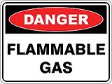 Dangeer Flammable Gas
