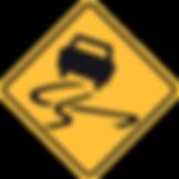 Warning Slippery when wet