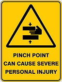 Pinch Point Can Case Severe Personal Injury