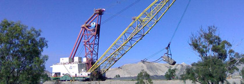 Gladstone Surveyors, Rockhampton Surveyors can perform volume surveys for mines