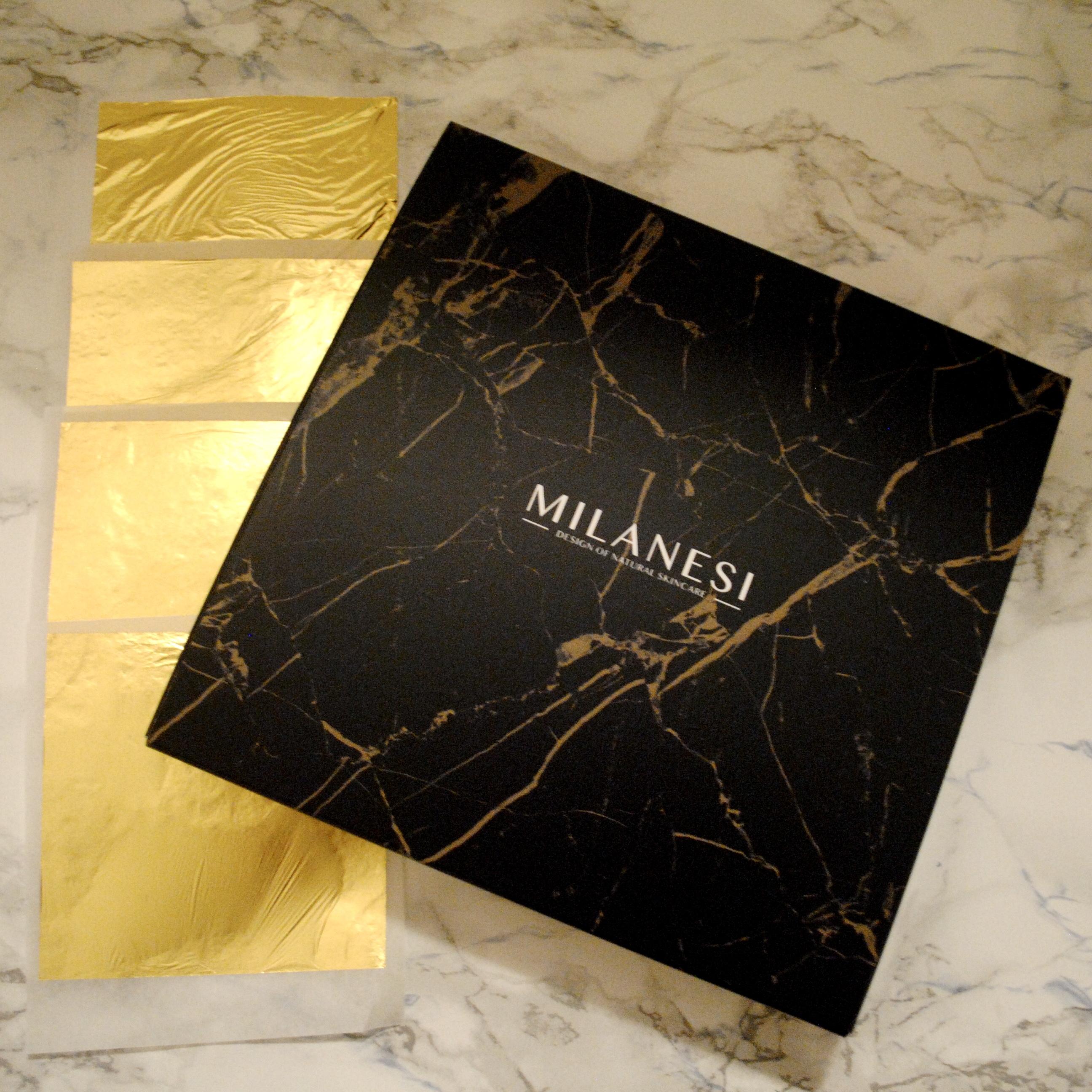 Foglie d'oro puro Milanesi
