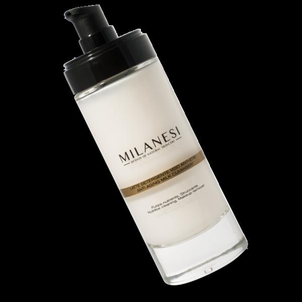Latte detergente antietà ideale per una pulizia delicata della pelle