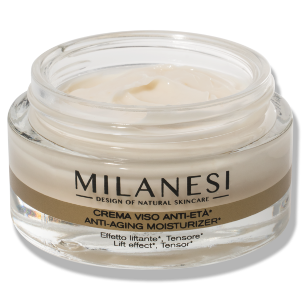 crema viso anti-età montenapoleone formulata con oro e acido ialuronico