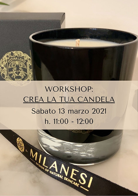 Workshop #2 - Crea la tua candela