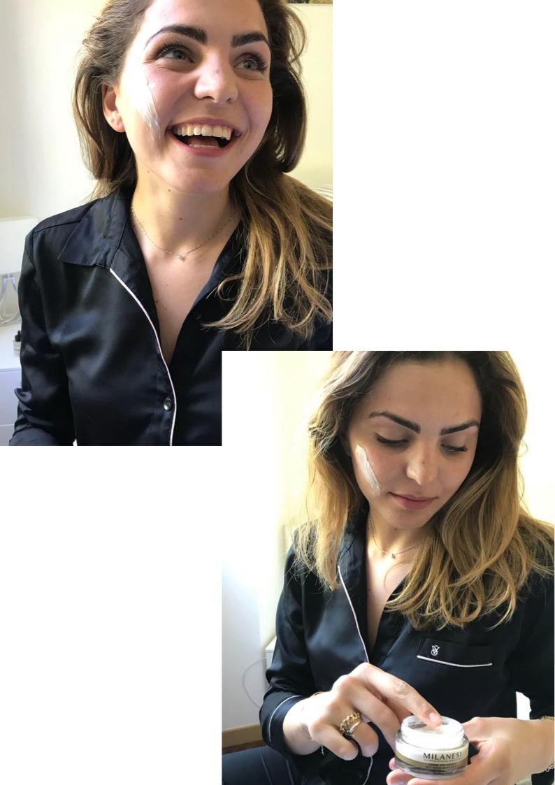 La crema viso anti-età di Milanesi skincare è una crema ricca e nutriente, studiata per donare elasticità e giovinezza alla pelle.