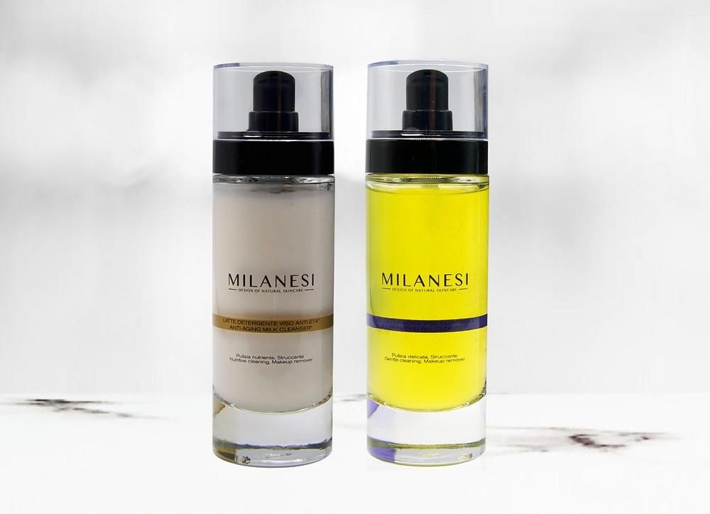 Per una detergenza perfetta, milanesi skincare consiglia questa combinazione di prodotti