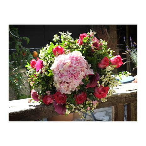 Bouquet rond 0093