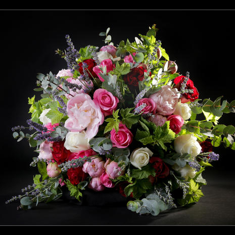 Bouquet rond 0040