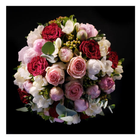 Bouquet rond 0100