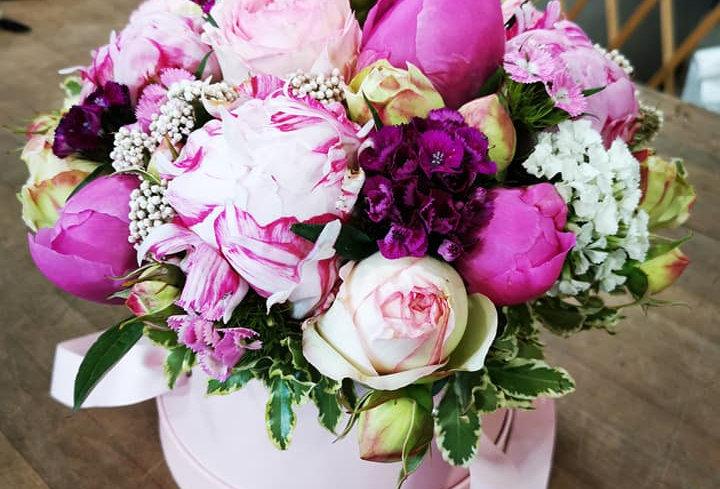 Boîte à Roses Fuschia
