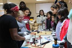 Girl Scouts Soldering Workshop