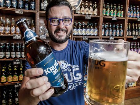 Sommelier de cervejas Heitor Silva é o novo embaixador da Krug Bier