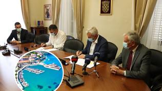 Potpisan ugovor o izvođenju dva milijuna kuna vrijednih radova na komunalnoj luci Račišće