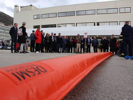 ŽLU Korčula sudjelovala u zajedničkoj javnoj nabavi kupnje brana za borbu protiv onečišće