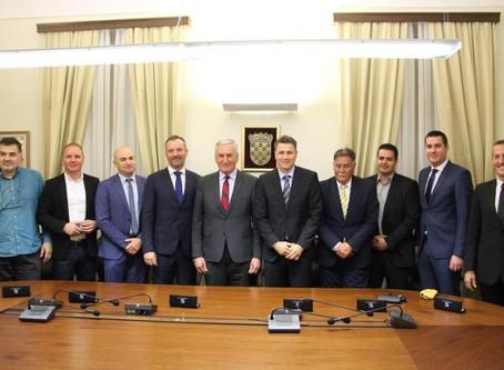 Ravnatelj Lučke uprave Korčula Vedran Leleković potpisao sporazum o zajedničkoj javnoj nabavi za tis