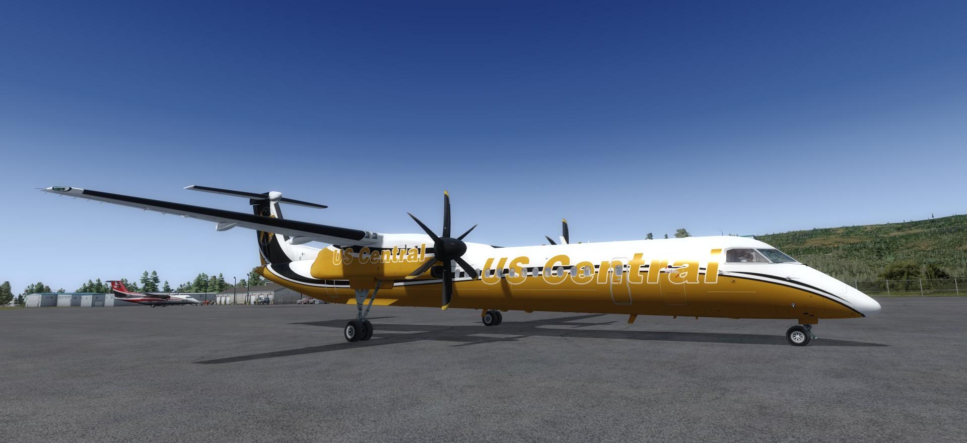 Bombardier Q400 Dash 8