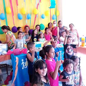 Unidade Básica  de Saúde  Mário Gomes, comemora antecipadamente  o Dia das Crianças