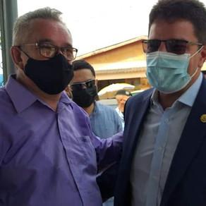 Governador Gladson Cameli e Prefeito Camilo da Silva, oficializam volta às aulas presenciais