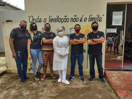 Início da Vacinação dos Agentes de Segurança Pública do município contra Covid-19