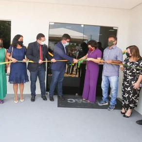 Prefeito Camilo da Silva participa da inauguração as novas instalações do MP