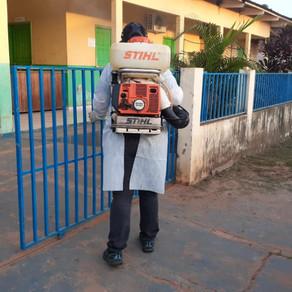 Equipe da Endemias realiza borrifação no Municipio de Plácido de Castro