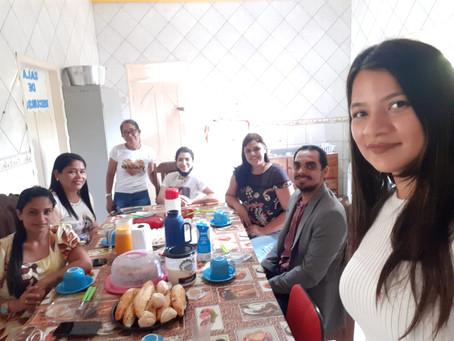 CREAS recebeu a Visita do senhor Danilo Cesar - Delegado da policia civil deste município