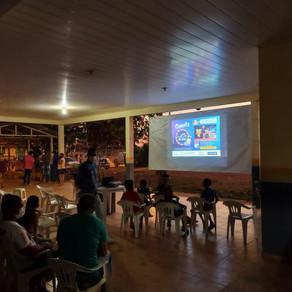 Comunidade do Km 14, receber Cine Cultura no Bairro.
