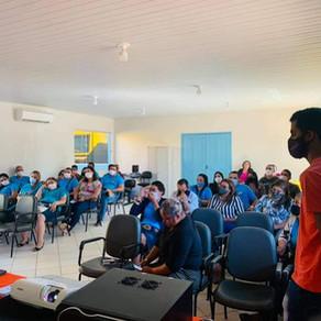 Gestores, professores e trabalhadores do âmbito educacional, participaram do PPA