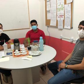 Secretário de Saúde do município recebe visita do Secretário de Saúde de Acrelândia