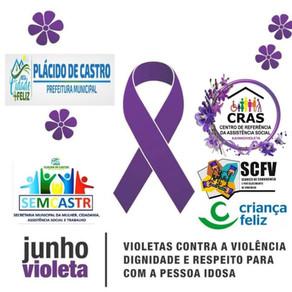 CRAS em ação no Junho violeta