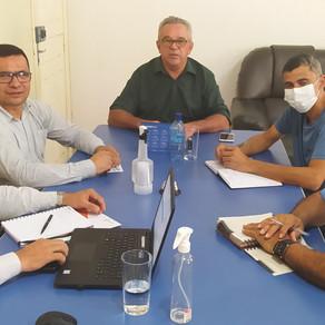 Prefeito Camilo da Silva recebe visita do Coordenador Regional da Energisa