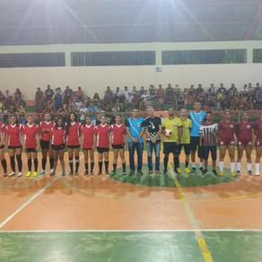 Prefeitura municipal realiza grande final do Campeonato municipal feminino de futsal