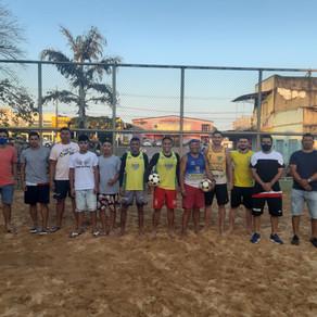 Torneio agita início do campeonato de futevôley e intermunicipal das escolinhas