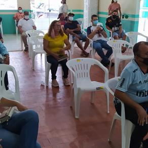 Prefeito Camilo Silva, se reuniu com a Federacre, Sebrae e os empresários locais
