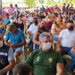 CELEBRAÇÃO E CHEGADA DE MAQUINÁRIOS PARA PLÁCIDO DE CASTRO
