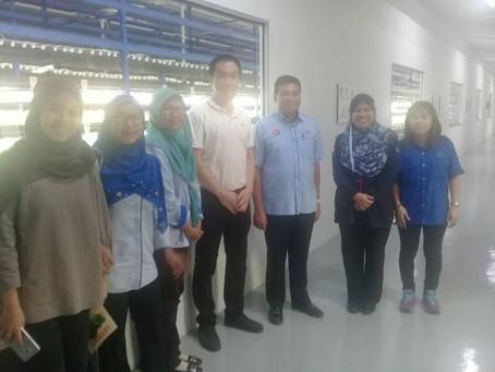 Visit from YB Johor Baru