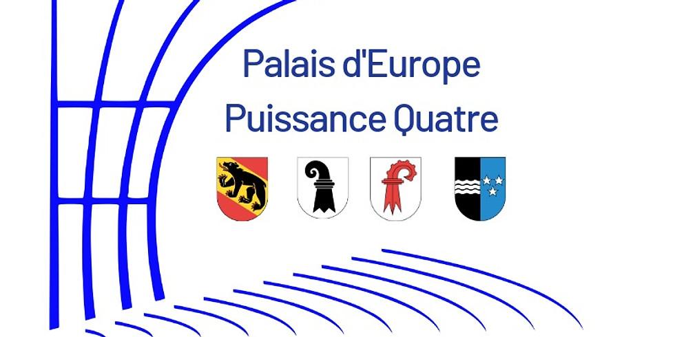 Besuch Palais de l'Europe Strassburg