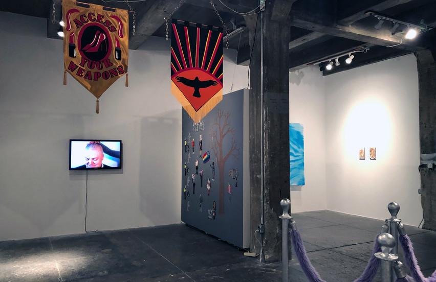 Lip Sync Parade, Installation view