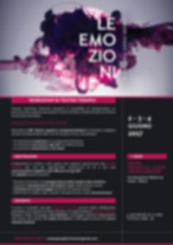 Teatro Terapia workshop DBT Le emozioni