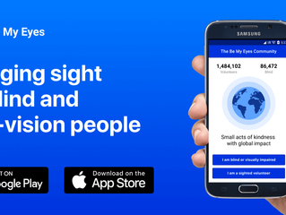 Use your mobile phone to help the blind and low-vision people