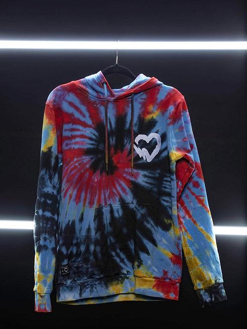 C8OL Tie Dye Promo hoodie